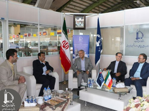 Deputy Minister of Science and Technology Attends International Office of Ferdowsi University of Mashhad at Mashhad Airport