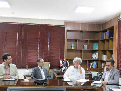 Meeting of Director of French National Institute of Health and Medical Research (Inserm) and ...