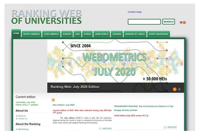 Improving the Position of Ferdowsi University of Mashhad in the Results of Webometrics 2020 Ranking System