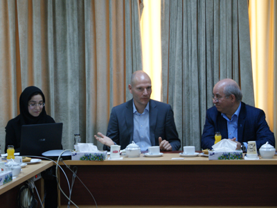 The Director of German Academic Exchange Service (DAAD) Paid a Visit to Ferdowsi University of Mashhad