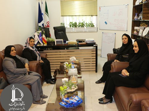 Meeting of the Head of International Students Office of Ferdowsi University of Mashhad with Head of Afghanistan Women Chamber of ...