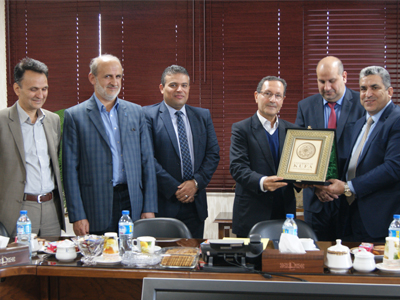 Dr. Mohammad Kafi Meets with the President of the University of Kufa