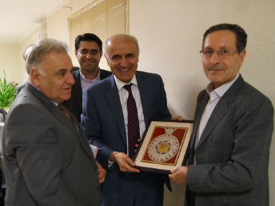 Meeting held between the Ambassador of Armenia to Iran and his delegation with the President of Ferdowsi University of Mashhad