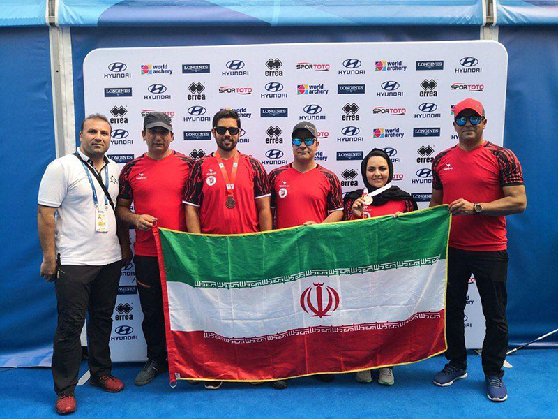 The Ferdowsi University of Mashhad Student Won the Bronze Medal in the Archery World Cup in ...